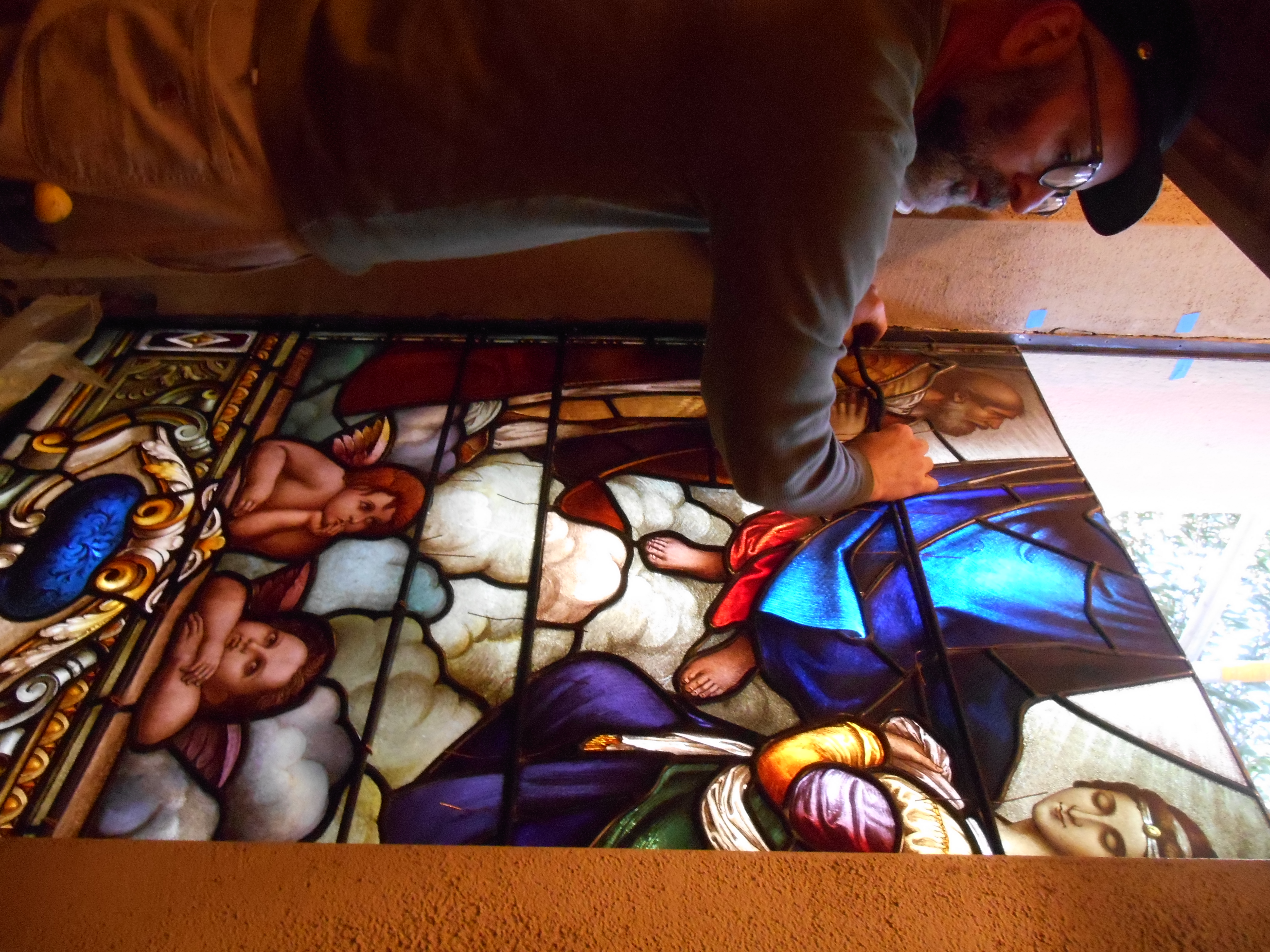 Stained Glass Installion